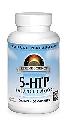 SOURCE NATURALS Serene Science 5-HTP 200 Mg Capsule, 60 Count