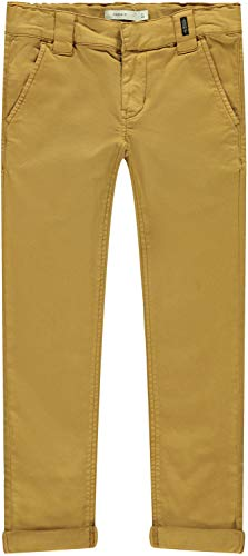 NAME IT Jungen NKMSILAS TWITICKA Chino NOOS Jeans, Medal Bronze, 158