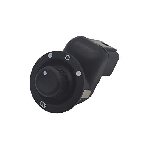 ZEALfix Perilla de ajuste de energía eléctrica Interruptor de control del espejo lateral 8200676533 Clio III Laguna II Megane 2 Scenic 2 Kangoo