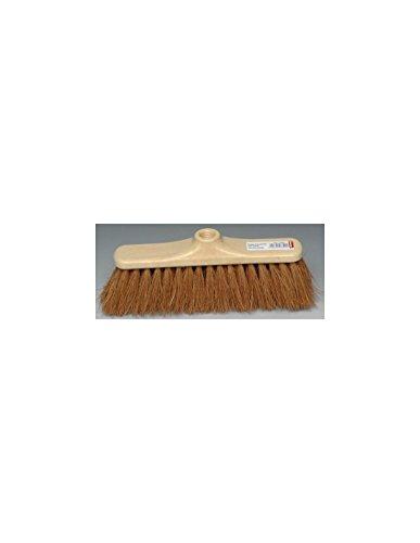 Otto-Office-Besen coco: Kokosnussfaser sind. Gestell polypropylène.-Einsatz Ø 24 mm mit Griff vis. Breite: 28 cm.