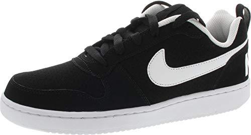 Nike Court Borough Low, Chaussures de Gymnastique Homme, Noir (Black/white ), 40 EU
