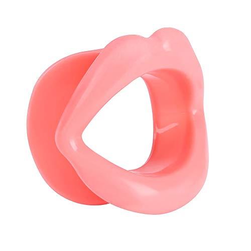 Solomi Lip ejercitador - ejercitador Oral, Silicona Boca del músculo Tensor de la Cara de elevación Herramienta ejercitador de Labios Que Adelgaza la Cara
