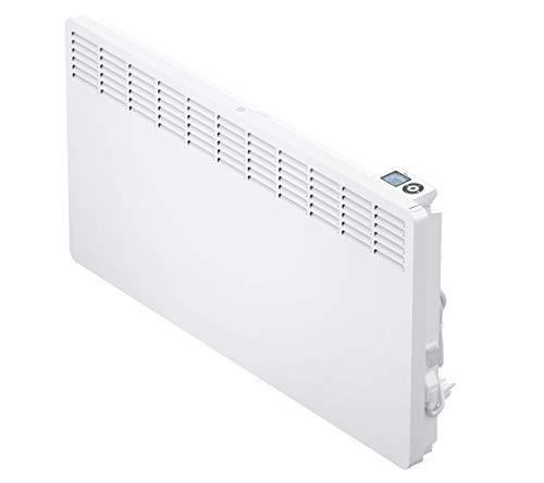 AEG casa Technik 236536parete Termoconvettore WKL 2505per circa 25m², Riscaldamento 2500W, 5–30gradi C, da appendere a parete, Display LCD, Timer settimanale, Metallo, colore: bianco