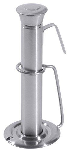 Bierwärmer aus Edelstahl, mit Verschlusskappe und Abtropfhalter/Länge: 16 cm, Ø dia. 2,5 cm   ERK