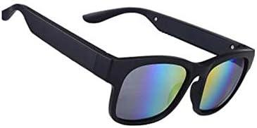 ZNBJJWCP Night Vision Glasses Bone Conduction Bluetooth Smart Sport Headphone Sunglasses Bluetooth Driving Goggles Audio Headset Glasses