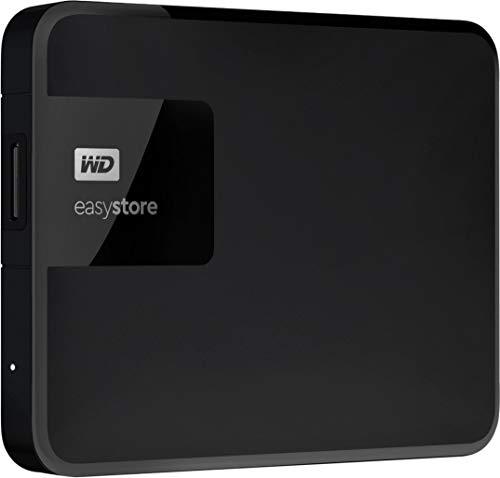 Western Digital - Easystore 5TB External USB 3.0 Portable Hard Drive - Black