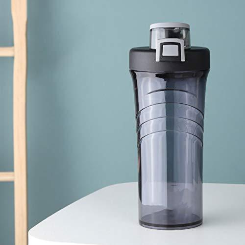 Outdoor Sportflasche aus Shake Cup, Sport Cup, Fitness Kunststoff Kessel, Glattes Cup, große Kapazitäts Sport Cup, beweglicher im Freien Kessel, Anti-fällt Cup, 800ml Versiegelt Auslaufsicher Wasserfl