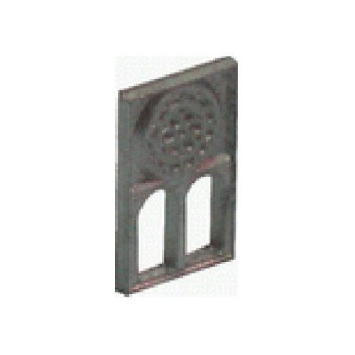 DOMUS KITS-Fenêtre avec rosace (sachet de 3) 10 x 17 mm