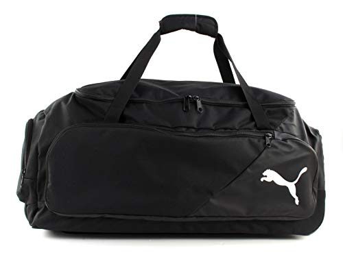 PUMA Liga Medium Wheel Bag, Borsone Unisex – Adulto, Black, Taglia Unica
