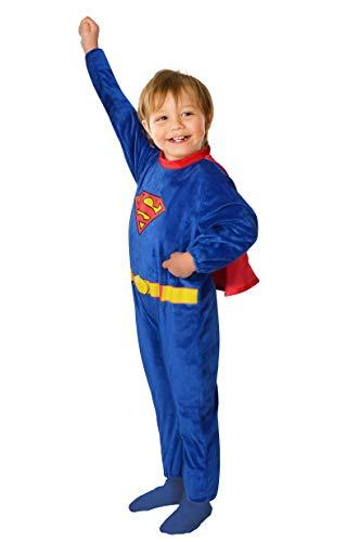 Ciao-Superman Costume Baby Originale DC Comics (Taglia 2-3 Anni) Disfraces, Color Azul/Rojo, (11710.2-3)