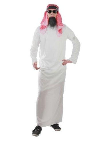 Foxxeo Kostüm Scheich Araber Araberkostüm Scheichkostüm Größe XL