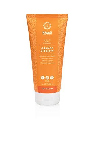 khadi Naturkosmetik Ayurvedisches Elixier Shampoo Orange Vitality 200 ml
