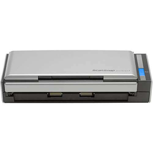 Fujitsu ScanSnap S1300i Portable Color Duplex Document Scanner for Mac and PC Parent 1 Black