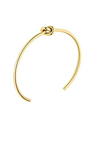 FAYE ® Knot Bracelet Gold Armreif Damen - Aus hochwertigem Edelstahl