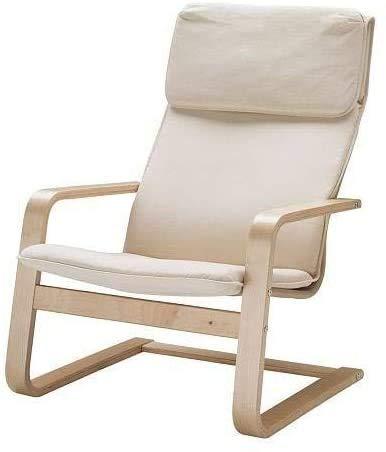 Silla relajante, mecedora, sillón, sillón,Natural color