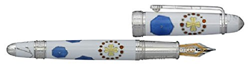David OSCARSON Sagrada Familia colección pluma estilográfica), color blanco opaco