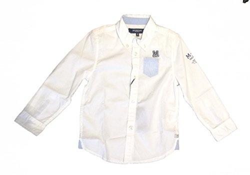 McGregor - Camisa de Manga Larga Paul Solid, niño, Color: Blanco, Talla: 4 años