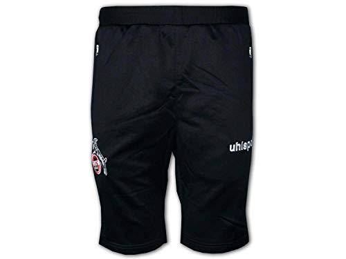 uhlsport Herren 1. FC Köln 3/4 Training Hose Traninghose, schwarz, XXXL