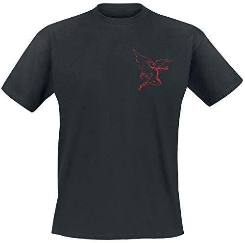Black Sabbath Cherub Männer T-Shirt schwarz L 100% Baumwolle Band-Merch, Bands