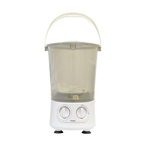 THANKO お湯が使えるコンパクト洗濯機「バケツランドリー」洗濯機 小型 コンパクト バケツ洗濯機 お湯 汚れ バケツ ランドリー バケツウォッシャー 予洗い 別洗い