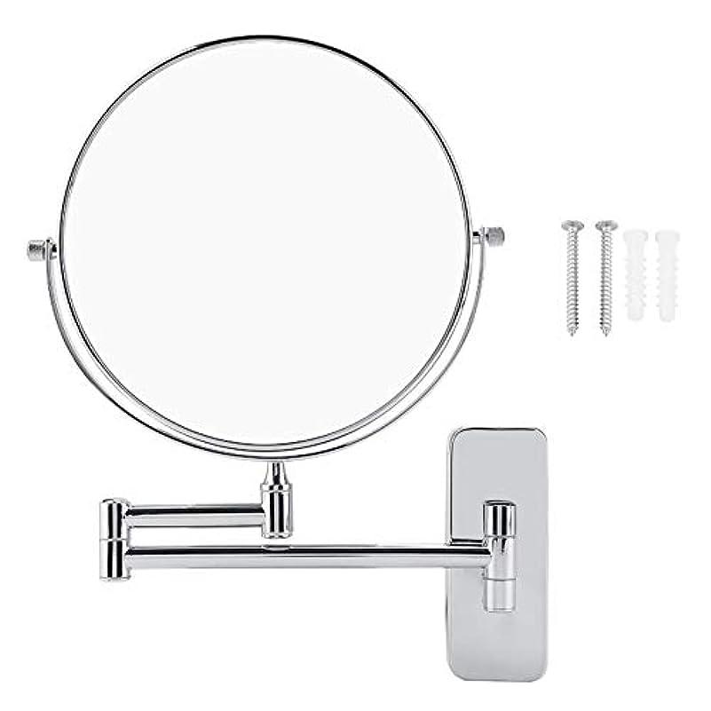 ジョットディボンドン小説ティーンエイジャー浴室の壁ミラーウォールマウント両面化粧鏡回転式バスルーム化粧ミラー 10x 倍率
