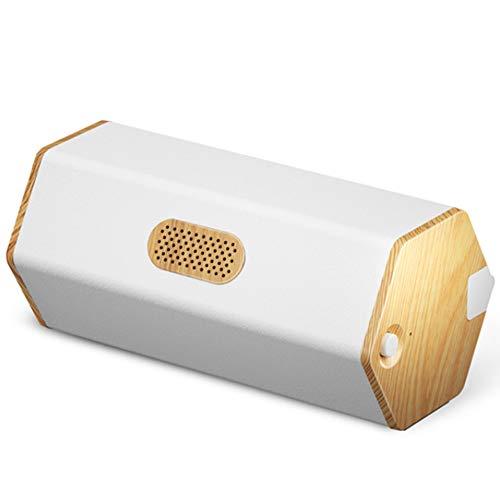 WXS Stiller Tragbare Luftreiniger USB Aufladbare Haushalt Ozon-Luftreiniger Sterilisation Deodorizer Kühlschrank/Pet Nest/Spielzeug/Schuhschrank Desinfektion,Weiß