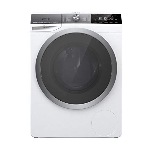 Gorenje WS 168 LNST Waschmaschine mit Dampffunktion/ 10 kg/ 1600 U/min/Inverter Motor/Totaler Aqua Stop/IonTech/Allergieprogramm/Schnellwaschprogramm/Sportprogramm/A+++