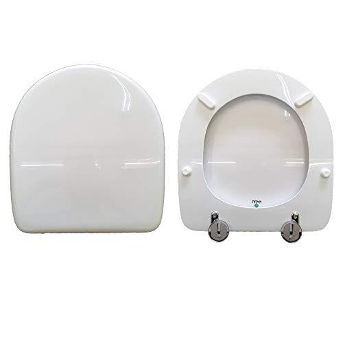 Copriwater F30 FALERII compatibile laccato bianco lucido poliestere