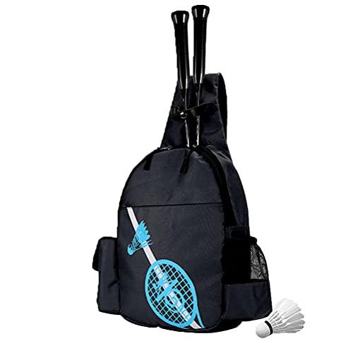 Bolsas Tenis, Raqueta De Tenis Mochila Mochila Deportiva Impermeable Mochila De Tenis para Raquetas De Tenis Squash Y Bádminton