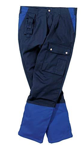 Hydrowear 044490 Gorlitz Image Line werkbroek, 60% katoen/37% polyester/3% elastaan, 62 maten, marine/koninklijk blauw