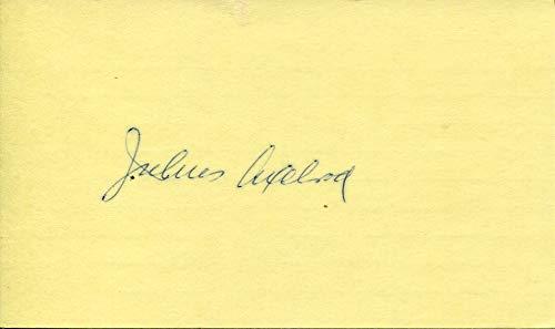 Julius Axelrod original Autogramm/Autograph/signiert