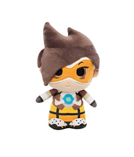 Funko- Plushies: Overwatch: Tracer Figura Coleccionable,