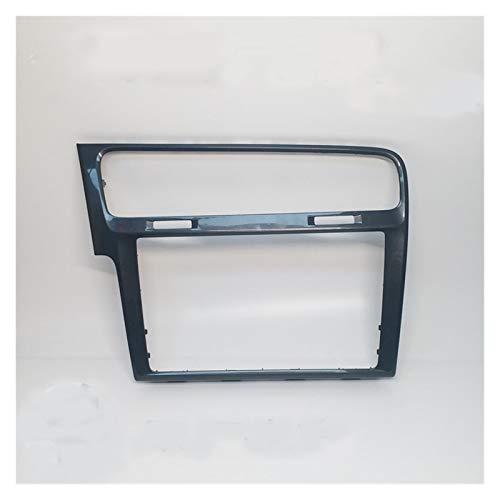 Daojun Frame de decoración de Radio de 8 Pulgadas Pantalla estéreo de 8 Pulgadas Ajuste para Volkswagen VW Golf 7 7.5 MK7 MK7.5 MQB MIB 3 Piano Negro/Gris Color (Color Name : Gray)