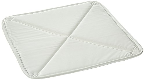 "ADCO 7172 18"" Deluxe Solar Vent Cover (White Over Silver Color)"