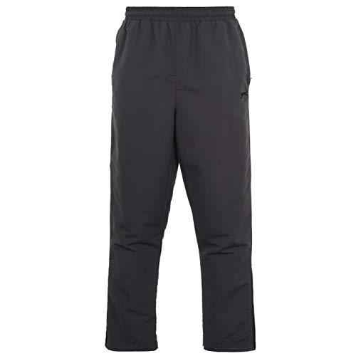 Slazenger Woven Herren Trainingshose Jogginghose Sporthose Sweathose Freizeit Grau Large