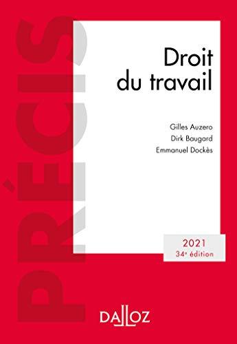 Droit du travail 2021 - 34e ed.