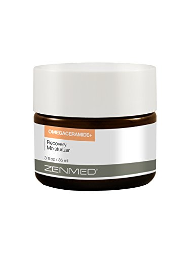 ZENMED Omegaceramide+ Recovery Moisturizer - 3 oz. Powerful Dosage of Collagen Enhancing Omega 3 Fatty Acids & Hyaluronic Acid For Sagging Aging Dull Skin