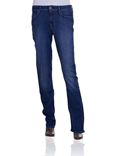 Levi's® Damen Jeans Demi Curve Straight - 04700-0163 Straight Leg Justice, Größe:W 28 L 32;Farbe:Justice (0163)