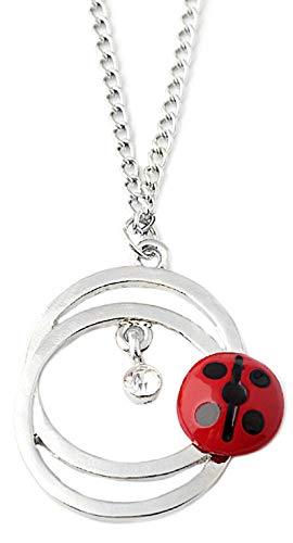 VersusModa Simile Mariquita Ladybug Collar con colgante similar Ladybug Necklace LADNECK01
