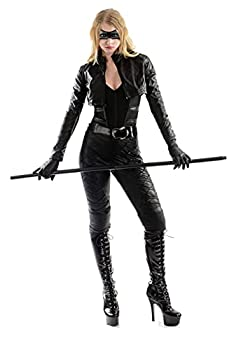 Charades Women s Licensed Black Canary Costume Multi Small