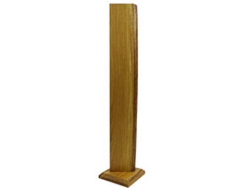 106cm Premium Stehlampe *Alesund* Eiche Holz LED Stehlampe Holz LED Stehleuchte Dimmbar