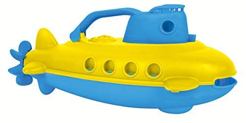 Small Foot 11302 Juguete de baño submarino, hecho de plástico 100% reciclado, aprox. 27 x 14 x 12 cm