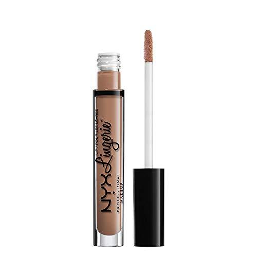 NYX Professional Makeup Lip Lingerie Liquid Lipstick, Cremig-mattes Finish, Langanhaltend, Vegane Formel, Farbton: Corset