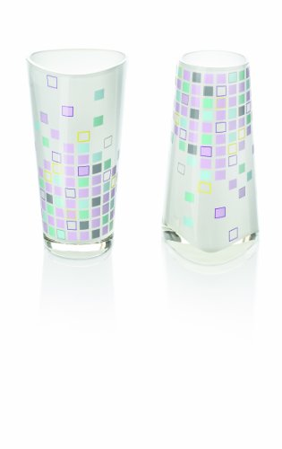 Ritzenhoff Vase, Glas, Mehrfarbig