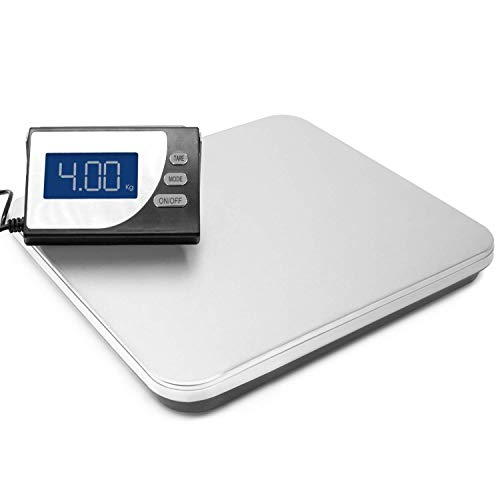 Futura 100kg Digital Shipping Parcel Scale - Heavy Duty Electric Postal Scales Weighing Machine - Weigh up to 220lb/100kg 100g/0.2lb Precision