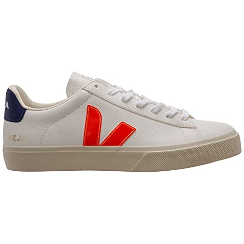 Veja Herren Sneaker Pack Man Campo Chromefree Weiss/orange (903) 43EU