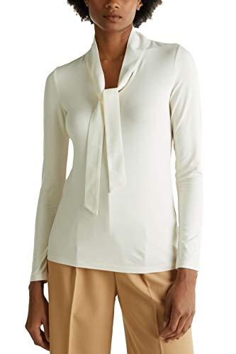 Esprit 010eo1k304 Camisa Manga Larga, Beige (Sand 285), XX-Large para Mujer