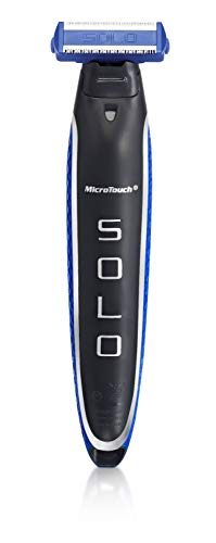 Micro Touch SOLO Men's Rechargeable Full Body Hair Trimmer, Shaver and Groomer (123456)