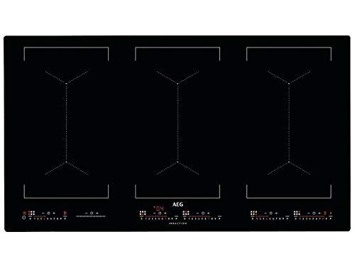 AEG IKE96654IB Induktionskochfeld autark 90cm Hob2Hood Bridge-Funktion SlimFit