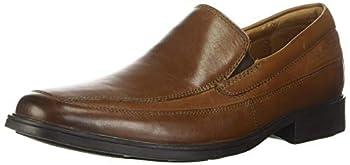 Clarks Men s Tilden Free Slip-On Loafer Dark Tan 10 M US